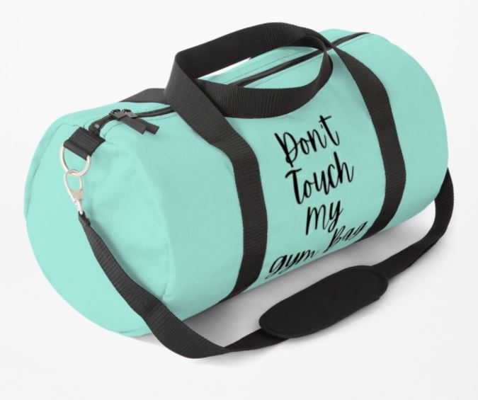 DontTouchMyGymBag Green 3